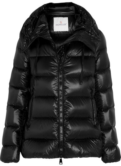 MonclerMoncler - Serinde Quilted Shell Down Jacket - Black