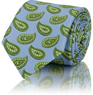 Kiton Men's Paisley Silk Repp Necktie