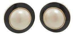 Carolee Circle Clip-On Earrings