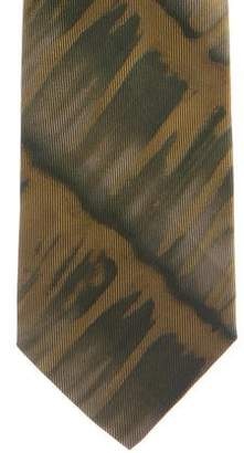 Gucci Abstract Print Silk Tie