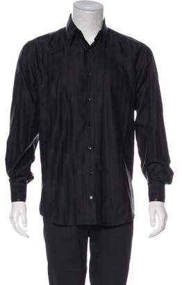 Dolce & Gabbana Satin-Trimmed Button-Up Shirt