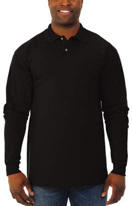 Polo Ralph Lauren JERZEES Men's SpotShield Long Sleeve Shirt