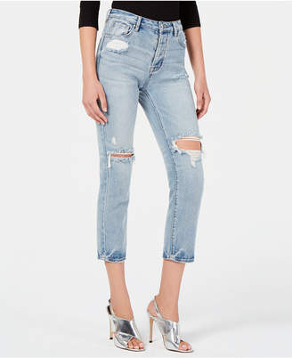 KENDALL + KYLIE The Icon Jean: Retro Inspired Relaxed Slim Boyfriend Jean
