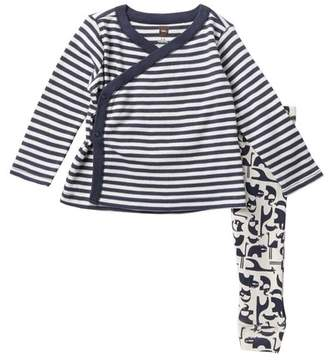 Tea Collection Born Free Baby Outfit (Baby Boys)