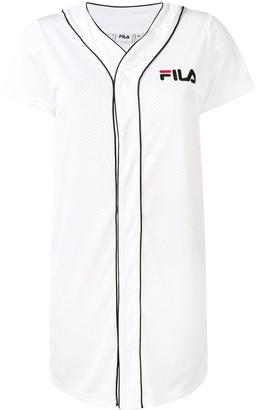 Fila logo jersey dress