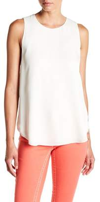 Theory Georgette Silk Shell Top