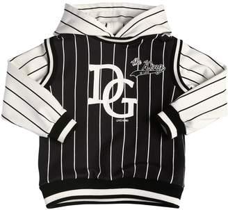 Dolce & Gabbana Cotton Sweatshirt Hoodie