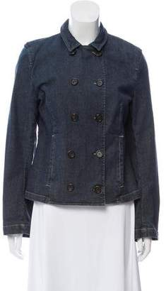 Burberry Double-Breasted Denim Jacket