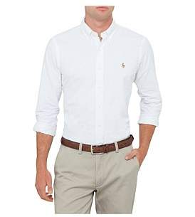 Polo Ralph Lauren Mens Custom Fit Polo Pony Oxford Shirt