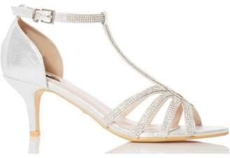 02b8fa3b09 Quiz Silver Dress Sandals For Women - ShopStyle UK