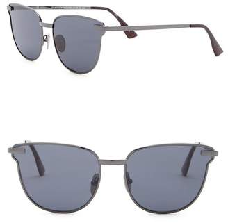 Le Specs Pharoah 59mm Modified Square Sunglasses