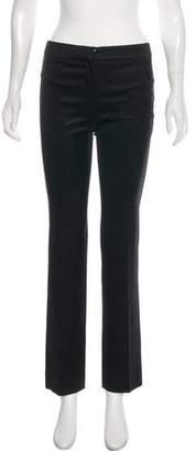 Philosophy di Alberta Ferretti Mid-Rise Straight-leg Pants