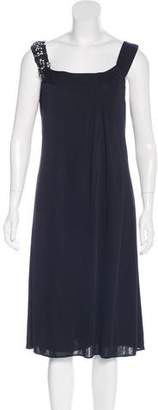 Alberta Ferretti Embellished Shift Dress