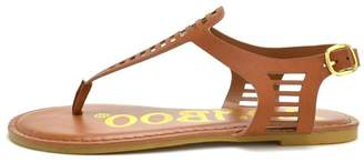 Bamboo T-Strap Sling Back $18.50 thestylecure.com