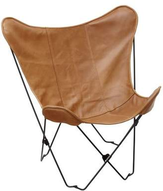Pottery Barn Teen Leather Sling Butterfly Chair Slipcover
