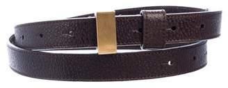 Fendi Embellished Leather Belt