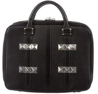 Y-3 Studded Leather Travel Case
