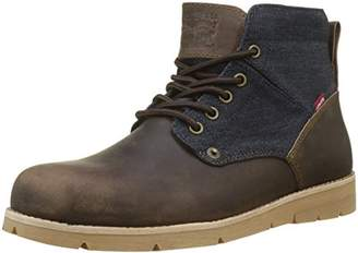 Levi's Men's Jax Desert Boots, (Dark Brown 29), 11 10.5 UK
