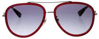 Gucci Aviator Gradient Sunglasses