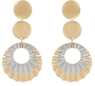 Isabel Marant Disc Drop Earrings - Womens - Gold