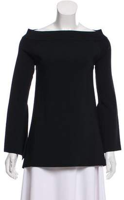 SOLACE London Long Sleeve Scoop Neck Top w/ Tags