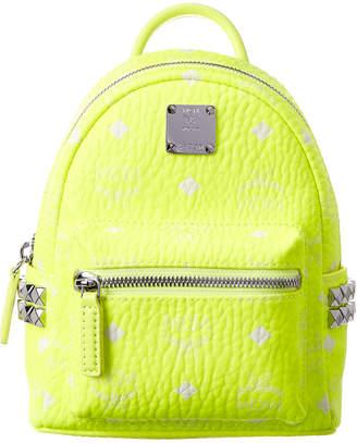 MCM Stark Side Studded Bebe Boo Visetos Backpack
