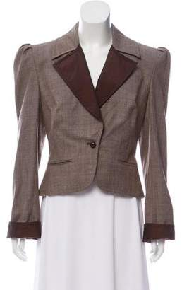 Gianfranco Ferre Notch-Lapel Structured Blazer
