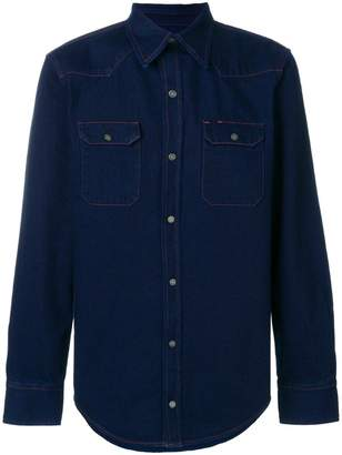 Calvin Klein Jeans denim fitted shirt