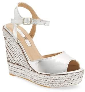 Ralph Lauren Lorraine Lina Platform Wedge Sandal