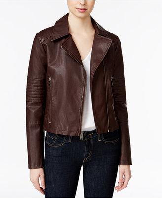 Levi's® Faux-Leather Moto Jacket $180 thestylecure.com