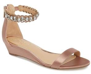 Badgley Mischka Ginger Wedge Sandal