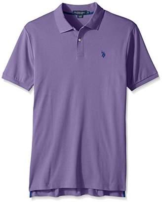U.S. Polo Assn. Men's Solid Interlock Short-Sleeve Shirt