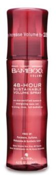 Alterna BAMBOO Volume 48 Hour Sustainable Volume Spray/4.2 oz. $25 thestylecure.com