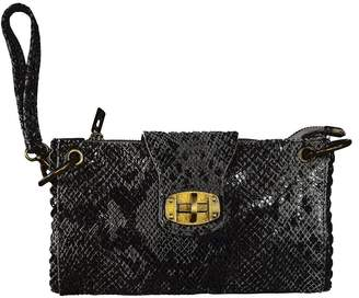 Bevini Modena Python Wrist Bag
