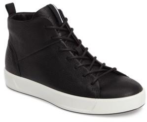 Women's Ecco Soft 8 High Top Sneaker $189.95 thestylecure.com