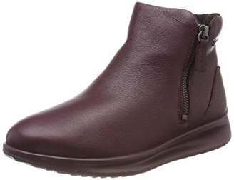 24f8699ab Ecco AQUET, Women's Ankle Boots, Rot (Wine 1278), 2.5/3