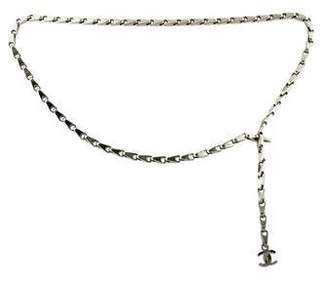 Chanel Metal Chain-Link Belt