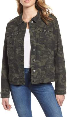 STS Blue Ella Camo Denim Boyfriend Jacket
