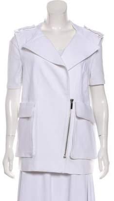 Thomas Wylde Casual Zip-Up Vest