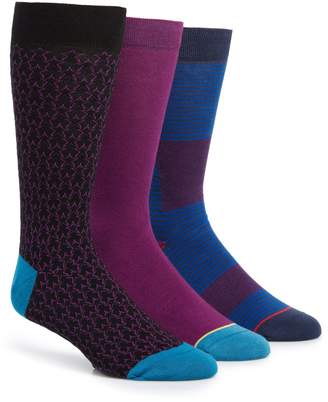 Ted Baker Shnow 3-Pack Socks
