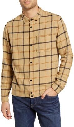 BHLDN Dodd Regular Fit Button-Up Flannel Shirt Jacket