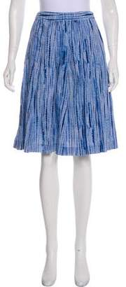 Tory Burch Printed Knee-Length Skirt