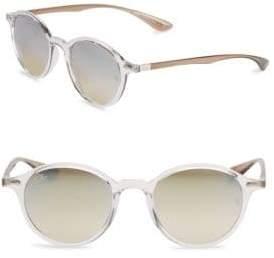 Ray-Ban Aviator Round Gunmetal Sunglasses
