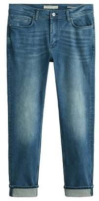 Mango man MANGO MAN Slim-fit faded medium wash Jan Jeans