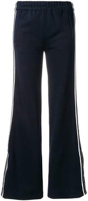 Victoria Beckham Victoria flared trimmed trousers