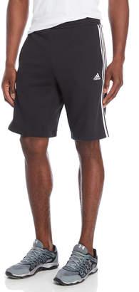 adidas Black Essential Fleece Shorts