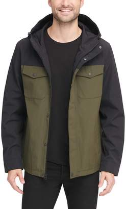 Levi's Levis Men's Arctic Cloth Hooded Rain Jacket