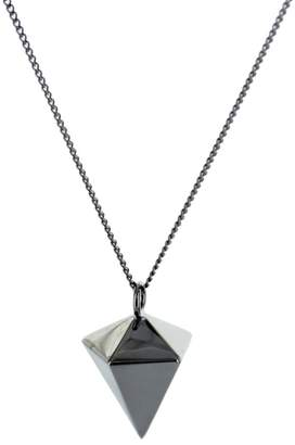 Origami Jewellery Mini Decagem Necklace Gun Metal