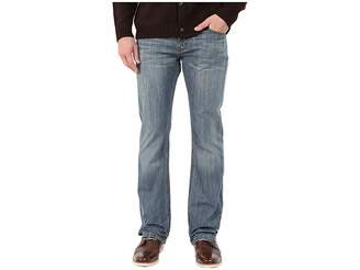 Levi's Mens 527 Slim Boot Cut Jeans in Medium Chipped