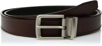 Timberland Men's 35mm Classic Leather Reversible Belt